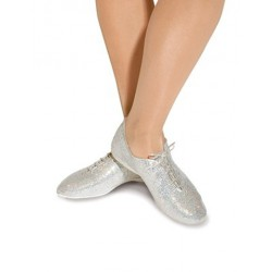SILVER HOLOGRAM JAZZ SHOES