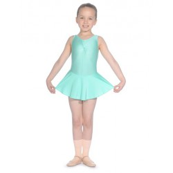 SLEEVELESS LEOTARD WITH...
