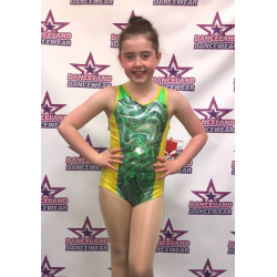 TORCH LEOTARD GREEN AND...