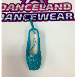 GLITTER POINTE KEYRINGS