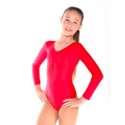 LONG SLEEVED LEOTARD WITH...